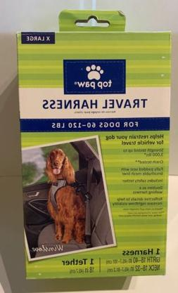 Top Paw® Travel Dog Harness size: X Large