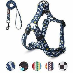 QQPETS Dog Harness And Leash Set, Adjustable Heavy Duty Pull