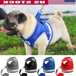 Dog Harness for Chihuahua Pug Pet Control Mesh Walk Collar V