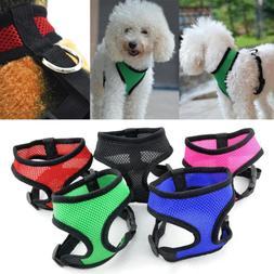 Dog Harness for Chihuahua Pug Small Dog Nylon Mesh Puppy Cat
