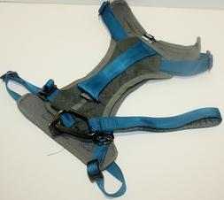 Kurgo Dog Harness for Large Dogs - Grey/Blue  - New - Ships