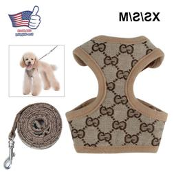 dog harness leash set walk puppy pet