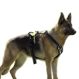 RABBITGOO Dog Harness No-Pull Adjustable Outdoor Vest Reflec