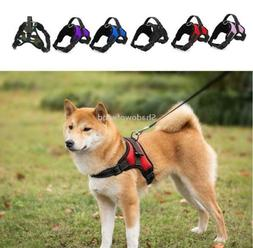 Dog Harness No Pull Adjustable Reflective Heavy Duty with Ha