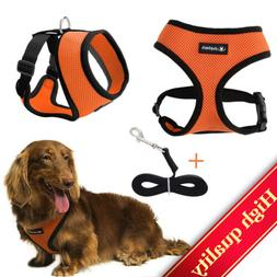 Dog Harness No-Pull Pet Adjustable Breathable Mesh,Outdoor -