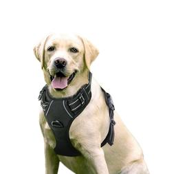 Rabbitgoo Dog Harness No Pull Pet Adjustable Outdoor Vest 3M