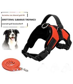 Dog Harness No Pull Pet Harness 3M Reflective Adjustable Out