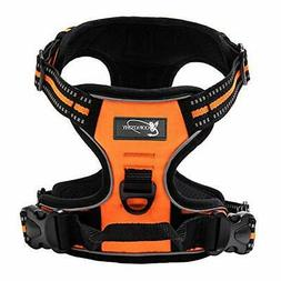 Copatchy Dog Harness No-Pull Pet Harness Adjustable Outdoor