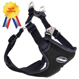 BINGPET Dog Harness No-Pull Pet Harness Adjustable Reflectiv