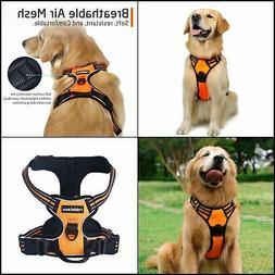 Rabbitgoo dog harness no-pull pet harness adjustable Reflect