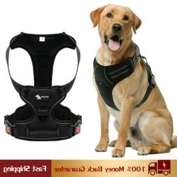 Dog Harness, No-Pull Reflective Breathable Adjustable Pet Ve