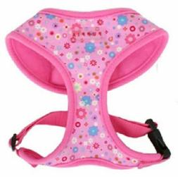 "Puppia Dog Harness Orion Pink For 2-3 lb Dog 11-15"" Chest Au"