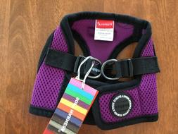 Puppia Dog Harness Size Small New with Tags Color Deep Purpl