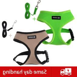 Dog Harness Step in Vest Leash Set Comfort Control Training
