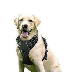 Dog Harness Vest Pet Adjustable XL Large Medium Small No Pul