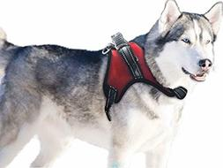 BINGPET Dog Harness with Handle No Pull Padded Reflective