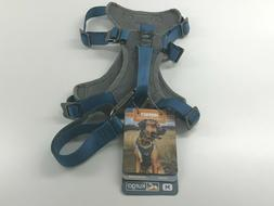 Kurgo Dog Journey Harness Grey/Blue Medium - NEW