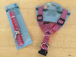 Dog leach nylon & strap harness size M New