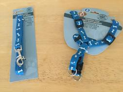 Dog leach nylon & strap harness size S New