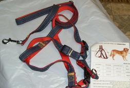 URPOWER Dog Leash/Harness Set Adjustable, Durable, Heavy Dut