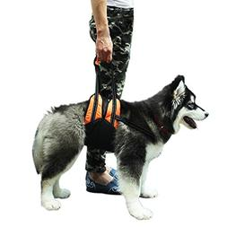 PUPTECK Dog Lift Support Harness with Handle for Medium and