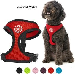 Gooby Dog Padded Harness - Soft Mesh Head-in Dog Harness wit