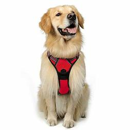 Dog Pet Harness No-Pull Adjustable Vest 3M Reflective Oxford