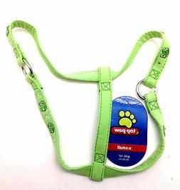 Top Paw Dog Pet Step In Harness Puppy Harnais Green Frog Ext