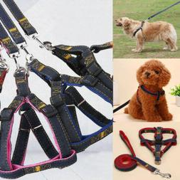 Dog Pet Leash Harness Set For Small Big Large Dog Pet Puppy