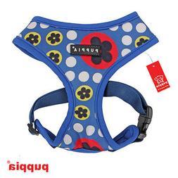 Dog Puppy Harness - Puppia - Blossom - Royal Blue - XS