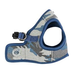 Puppia - Dog Puppy Harness Soft Vest - Ensign - Blue Camo -