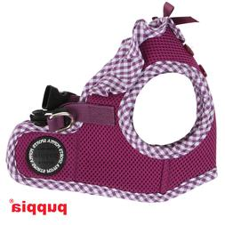Puppia - Dog Puppy Harness Soft Vest - Vivien - Purple - S,