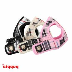 Puppia - Dog Puppy Harness Vest - Junior - Pink, Black, Beig