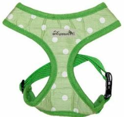 Dog Puppy Soft Harness - iPuppyOne - Polka Dot - Morning Dew