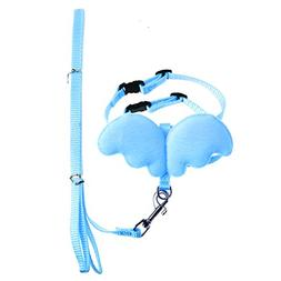 SELFON Dog Rabbit Ferret Pig Harness Leash Adjustable Pet A