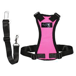 Copatchy dog seatbelt harness
