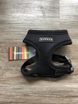 Puppia Dog Soft Harness Xs Black