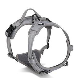 SGODA Dog Vest Harness, Grey, Large