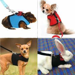 Dog Vest Harness & Leash For Small Animals Rabbits Ferrets K
