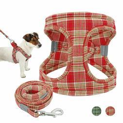 Dog Vest Solid Harnesses Personalized Soft Padded Basic Halt