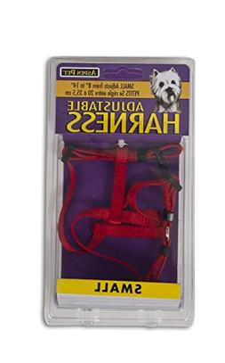 "Petmate Doskocil Co. Inc. Harness, Adjustable, Red, 3/8"" x 8"