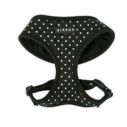 Puppia Dotty Harness A X-Small, Black