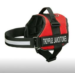 Emotional Basic Halter Harnesses Support Dog With Reflective