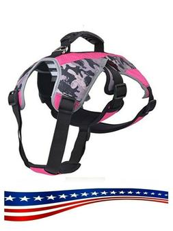 EXPAWLORER Escape Proof Outdoor Dog Harness Safety Air Mesh