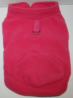 EXPAWLORER Fleece  Dog Vest Harness Sweater Coat w/Pocket -