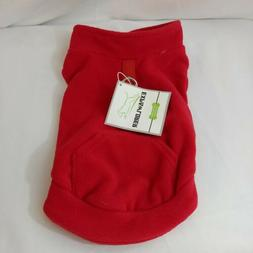 EXPAWLORER Fleece Dog Vest Harness Sweater Coat with Pocket
