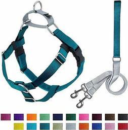 2 Hounds Design Freedom No-Pull Dog Harness and Leash, Adjus