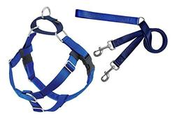 Freedom No-Pull Dog Harness Training Package, Royal Blue, XX