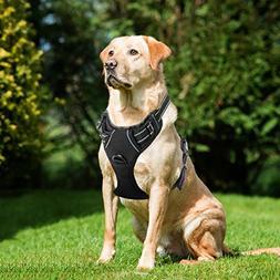 Lifepul Front Clip No Pull Dog Vest Harness - Dog Body Padde