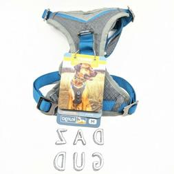 Kurgo Gray & Blue Journey Dog Harness, Medium, Grey / Blue